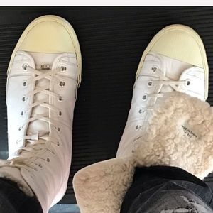 Dior Shoes - Dior Homme fur lined high-top sneaker